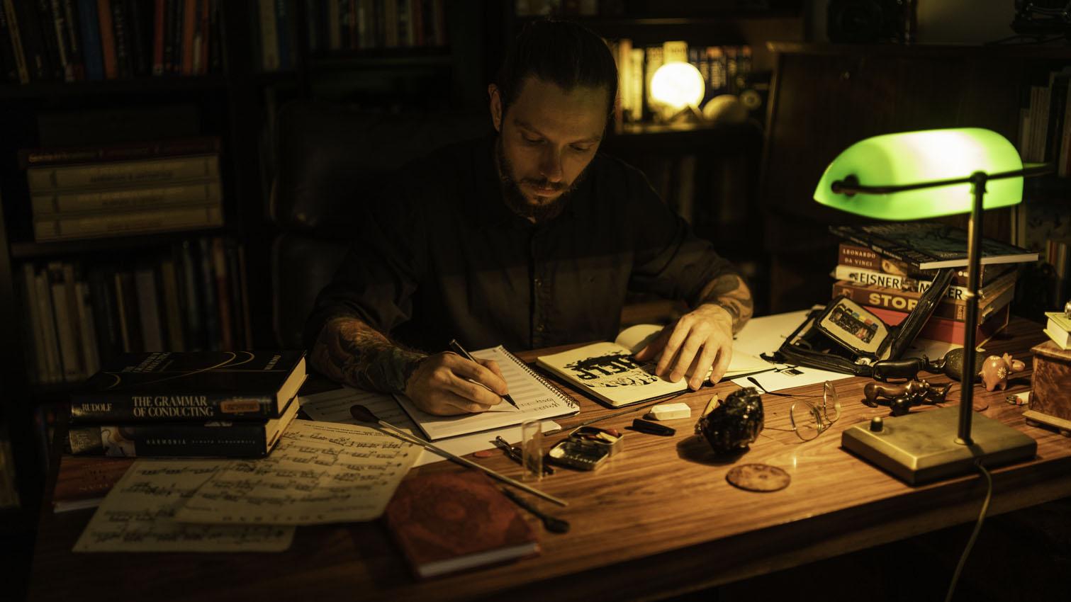 Luiz Ecarnação - Compositor e ilustrador